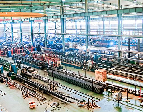 Racking production workshop
