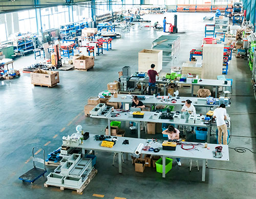 Automation equipment assembly workshop
