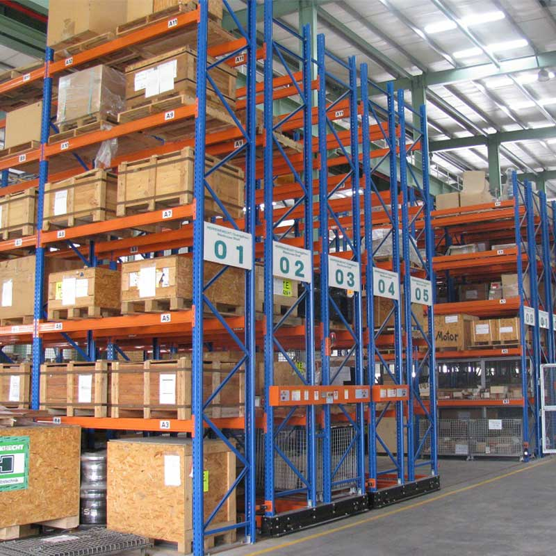 Mobile Pallet Racking System