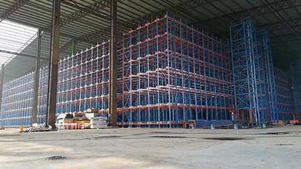 Emami Agrotech Ltd.-Automatic High Density Storage System & AS/RS crane